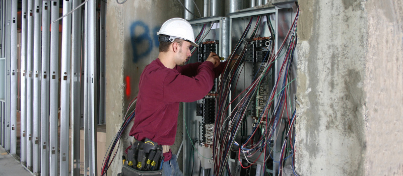 Industrial electrical installation in Lake Norman, North Carolina