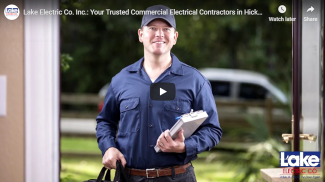 Lake Electric Co. Inc.: Professional Commercial Electrical Contractors You Can Count On in Hickory, NC