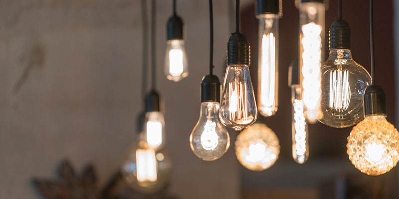 Many of the top trends in electrical lighting